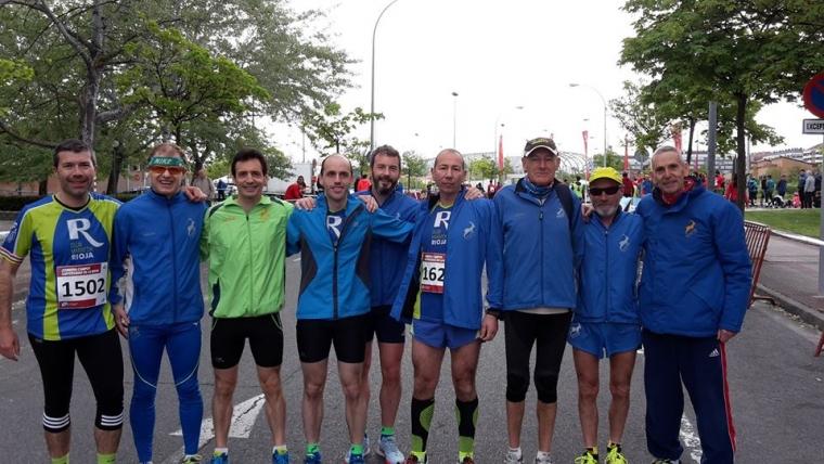 Un buen ramillete de nuestros compañeros corrieron la Carrera Campus Universidad de La Rioja