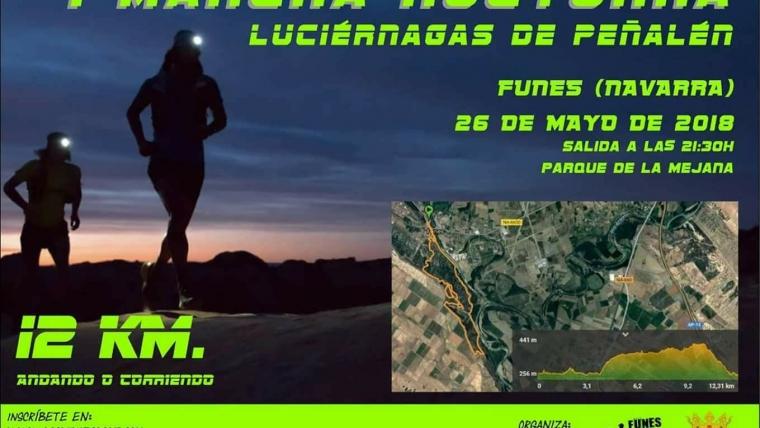 MARCHA NOCTURNA( Luciérnagas de Peñalen) Funes.