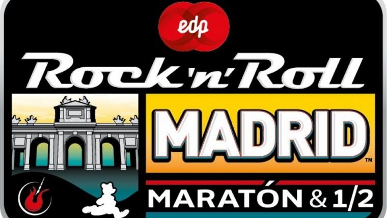 Seis compañeros se desplazaron hasta hasta Madrid para retar el maratón y media maratón Rock & Roll.
