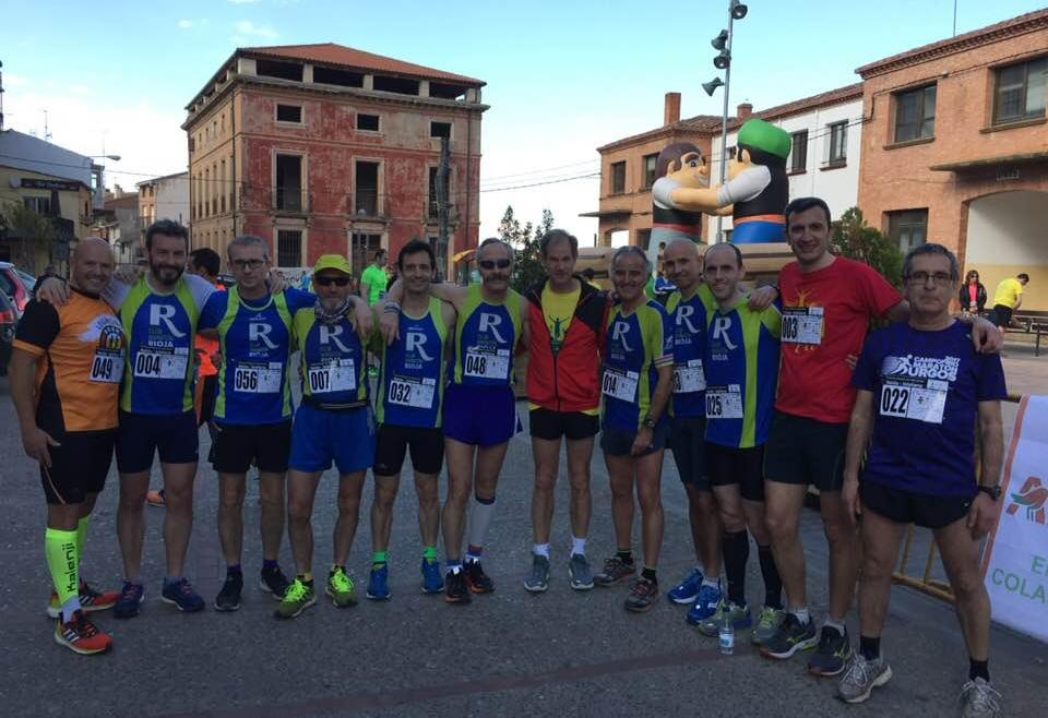Excelente participación de nuestros compañeros en la IV Carrera Popular con Abel Antón Nalda – Islallana