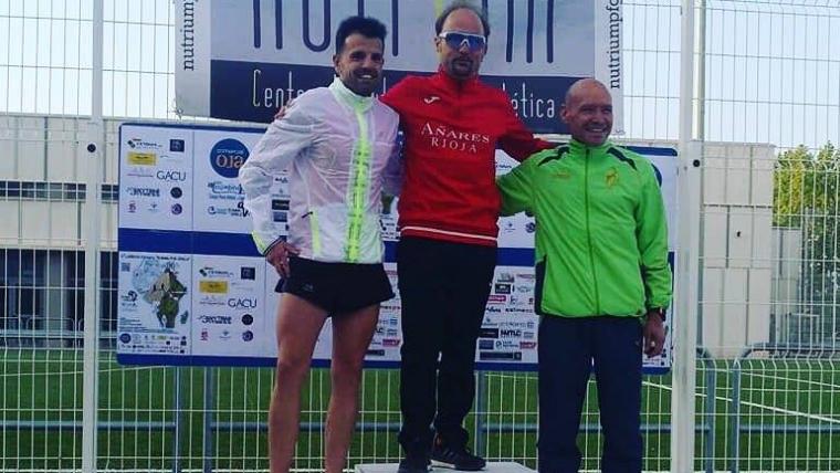 """Nuestro compañero Fernando Álvarez tercero en la I Carrera Solidaria """"Running Por África"""""""