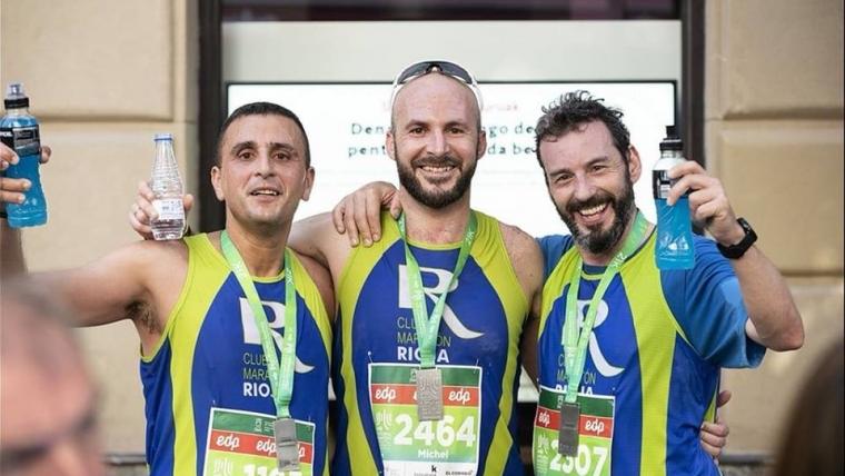 Cuatro compañeros nuestros dieron la nota en el Medio Maratón Martín Fiz de Vitoria