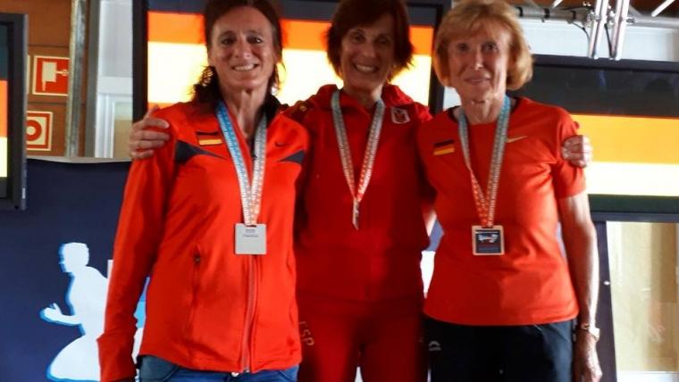 Maru consigue su primer título de Campeona de Europa de media maratón y Gema Olave cuarta y Campeona por Equipos.