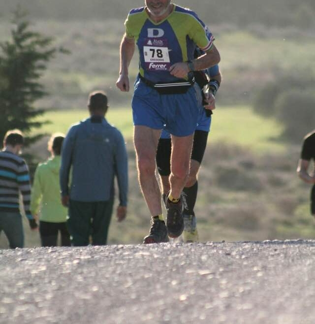 Gregorio Ascacibar corrío el IV Maratón de Vetón de Bejar.