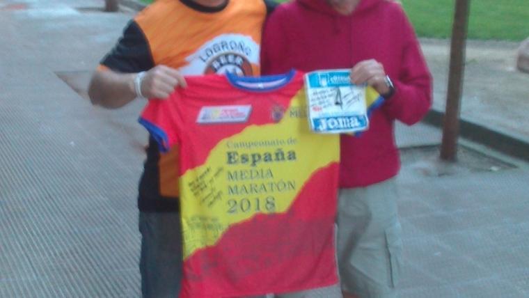 Nuestro compañero Gregorio Ascacibar  ganó el Concurso Solidario de la III Subida a Clavijo.
