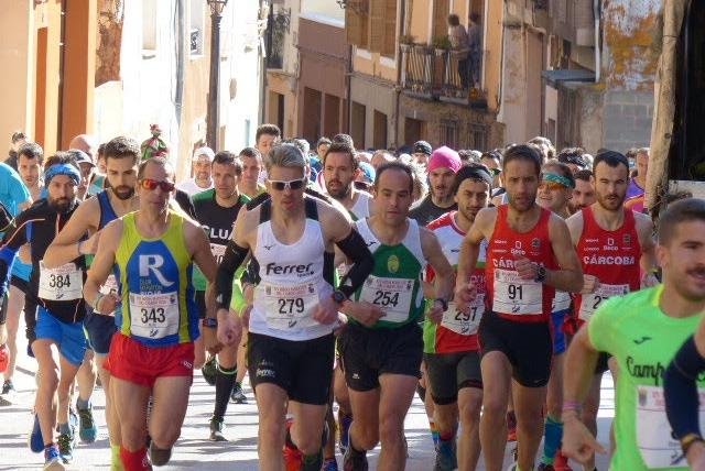 Con mucho viento se celebró la XIV Media Maratón del Camino