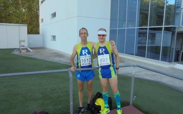 Manel Vergara y Rubén Hernando corrieron el Campeonato de La Rioja Individual Absoluto de 3000 metros lisos.