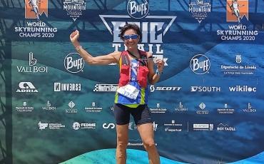Elena Clavijo roza el podio en la Baff Espacio Montain Barruera.