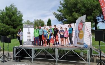 Raúl López y Nacho López primero y tercero en el 5K de Los Tres Parques y Susana Ansoleaga segunda en el 10K.